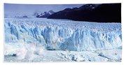 Glacier, Moreno Glacier, Argentine Bath Towel