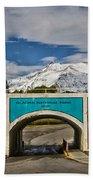 Glacier National Park East Gate Bath Towel