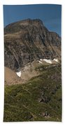 Glacier National Park Panorama Bath Towel