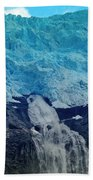 Glacier Waterfall Bath Towel
