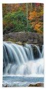 Glade Creek Grist Mill And Waterfalls Bath Towel