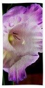 Gladiolus - Summer Beauty Bath Towel