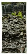 Glassy Rocks At Mohawk Bath Towel