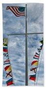 Glen Cove American Flag Bath Towel