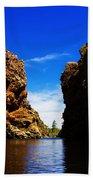 Glen Helen Gorge-outback Central Australia V2 Bath Towel
