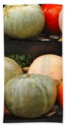 Glistening Gourds Bath Towel