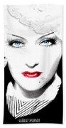 Gloria Swanson - Marlene Dietrich Bath Towel