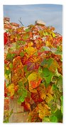 Glorious Autumn Leaves Bath Towel