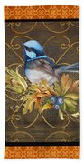 Glorious Birds-b2 Bath Towel