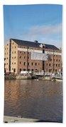 Gloucester Historic Docks 3 Bath Towel