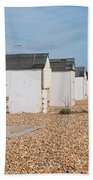 Glyne Gap Beach Huts In Sussex Bath Towel