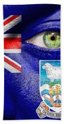 Go Falkland Islands Bath Towel