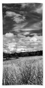 God's Country In Monochrome Bath Towel