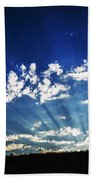 Gods Rays Bath Towel
