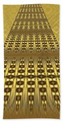 Gold Metallic 9 Bath Towel