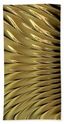 Gold Ridges Bath Towel