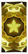 Golden Buddha Star Bath Towel
