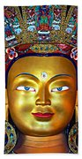 Golden Buddha Bath Towel