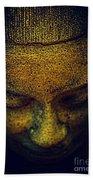 Golden Buddha Hand Towel