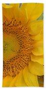Golden Duo - Sunflowers Bath Towel