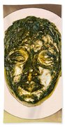 Golden Face From Degas Dancer Bath Towel