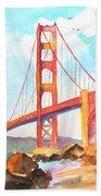 Golden Gate Bridge 3 Bath Towel