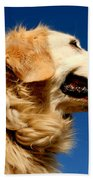 Golden Retriever Bath Towel