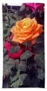 Golden Rose Bath Towel