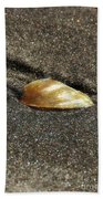 Golden Shell Bath Towel