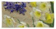 Golden Spring Bath Towel