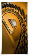Golden Staircase Bath Towel
