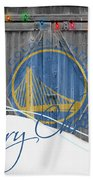 Golden State Warriors Bath Towel
