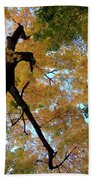 Golden Tree Bath Towel