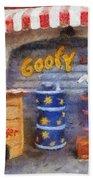 Goofy Water Disneyland Toontown Photo Art 02 Bath Towel