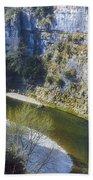 Gorge Du Tarn Bath Towel