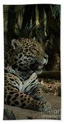 Gorgeous Jaguar Bath Towel