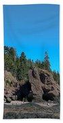 Gorgeous Rock Formations Bath Towel