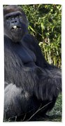 Gorillas In The Mist Bath Towel