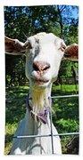 Got Your Goat Bath Towel