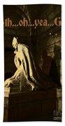 Goth Poster Bath Towel