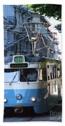 Gothenburg Tram 01 Bath Towel