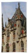 Gothic Bruges Bath Towel