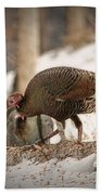 Gould's Wild Turkey Vix Bath Towel