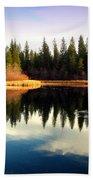 Grace Lake Northern California Bath Towel