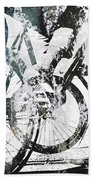 Graffiti Bikes Bath Towel