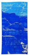 Grand Canyon Blues Bath Towel