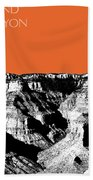 Grand Canyon - Coral Bath Towel