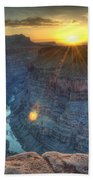 Grand Canyon First Light Bath Towel