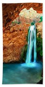 Grand Canyon Havasu Falls Hand Towel
