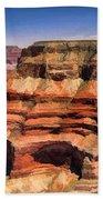 Grand Canyon Mesa Panorama Bath Towel